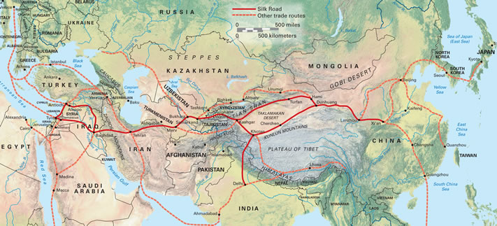 iran and silk road Tehran, history the first mention of tehran has been made in a work by the greek theodosius, who has mentioned tehran as a suburb of rey about 2000 years bc.