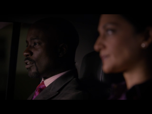"shady people of color scheming on ""The Good Wife"" - still from season 6"