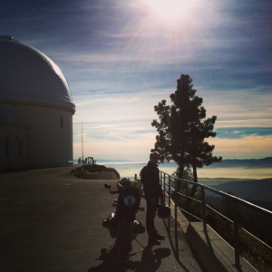 my man at Lick Observatory on Mt. Hamilton